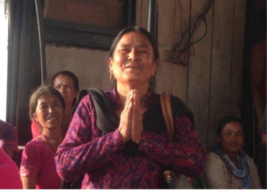 Rebuilding Women's Livelihoods in Nepal