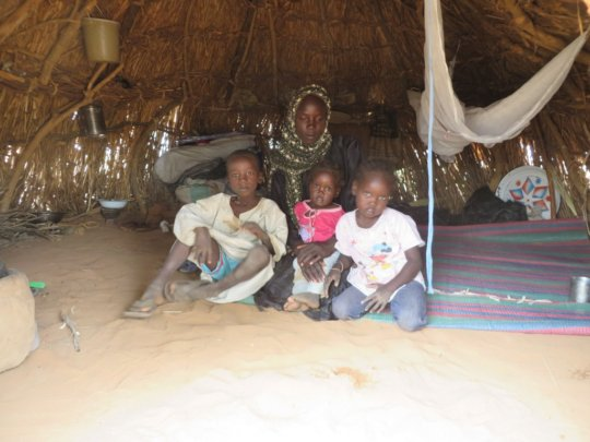 A family home in Darfur