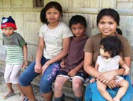 Villagers who will benefit from the micro Hydro electric plant