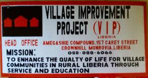 Office Sign, Monrovia, Liberia