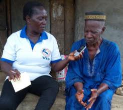 Interview with village elder