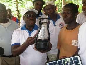 Village transformation one lantern at a time