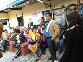 Tatwa Timsina of ICA Nepal shares gratefulness