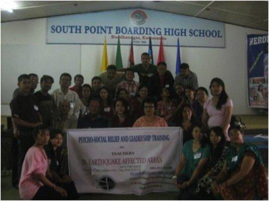 SA Trauma Training for Teachers at South Point