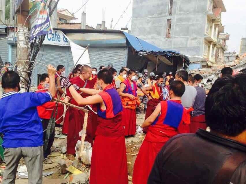 Earthquake Relief for Nepalese Bon