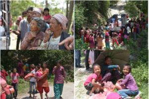 Relief Distribution - Chunikhel, Kathmandu