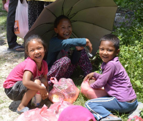 Disaster Support for Families in Nepal