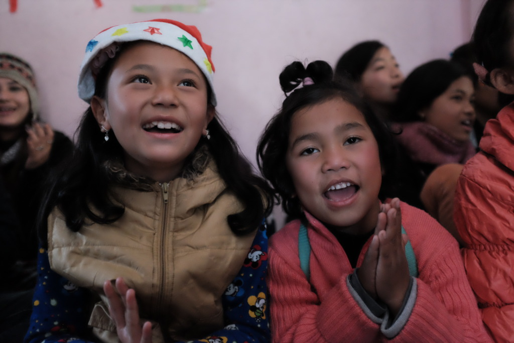 Thanks for helping to bring joy to these kids