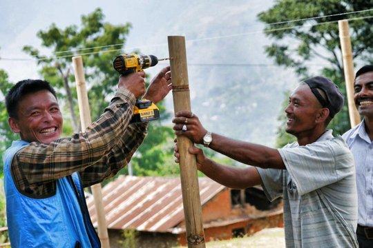 Modern tools meet traditional materials