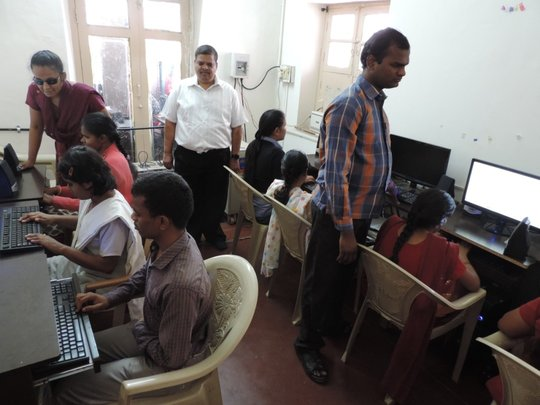 Teaching computers to Visually Challenged