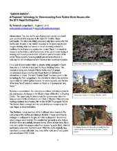Report on Gabion Bands in Nepal (PDF)