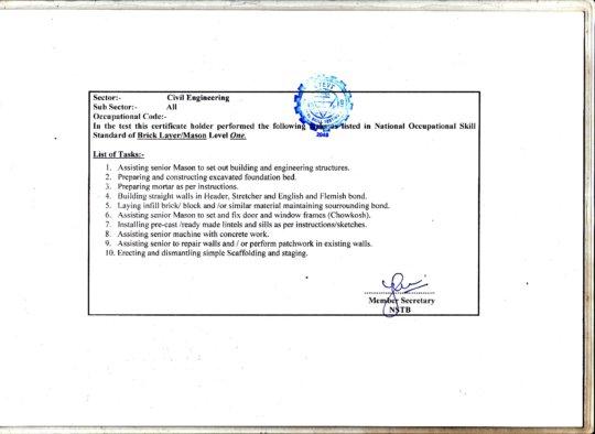 Qualification - 2