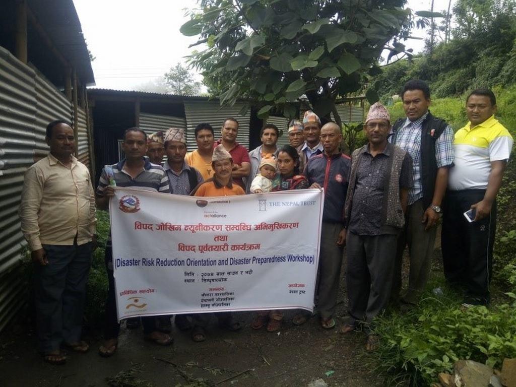 Disaster Risk Reduction training