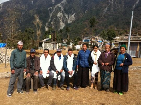 Community Leaders and Nepal Trust staff