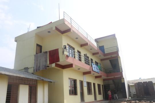Shree Bajarhatti new school block