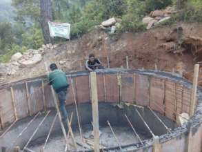 Kiul Irrigation Tank under construction
