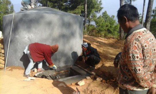 Repairing Irrigation system