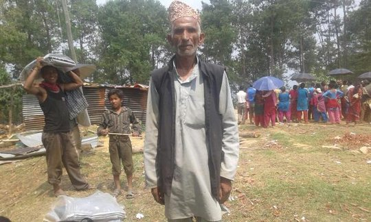 Community workers Kunchok VDC