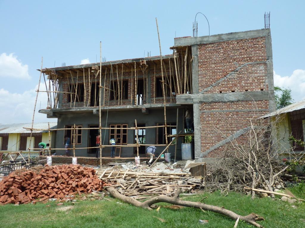 Deaf school under construction