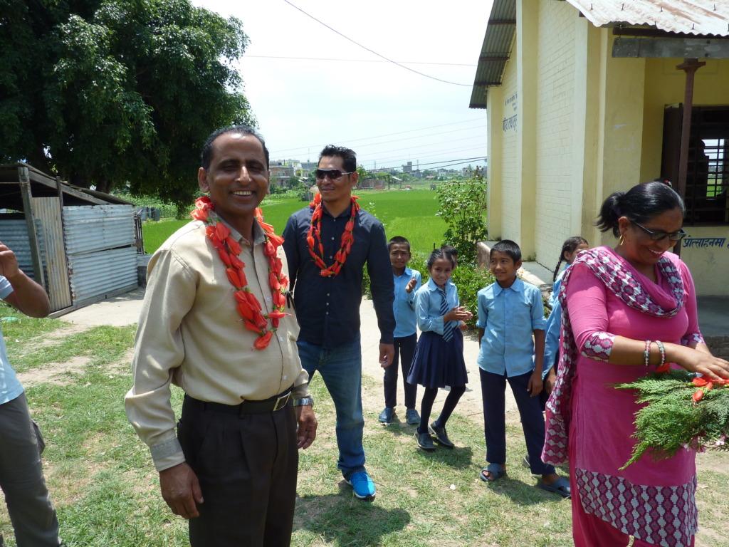 Deaf school - teachers and children