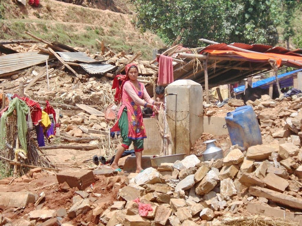 Earthquake recovery in Sindupalchowk, Nepal
