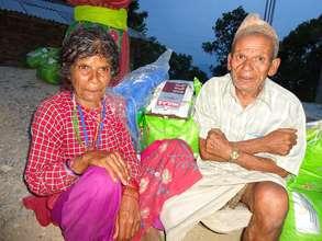 Relief Distributions in Fatakshila, Sindhupalchowk