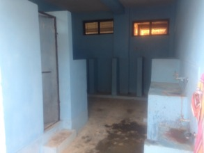 Inside view of new boys toilet