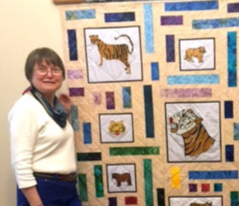 Bobbi is heading to Nepal to help make Tiger bags