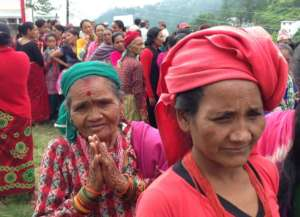 Care Women Nepal: At the 2015 CWN health camp