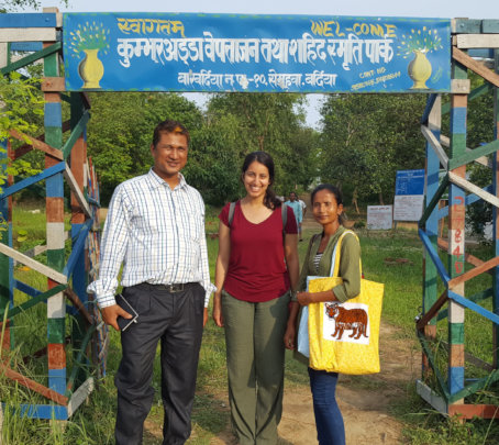 Sarita hopes to sell Tiger bags to tourists