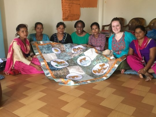 Peace Fellows Vicky and Kirstin (2017) in Bardiya