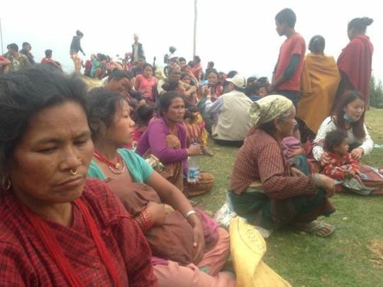 Blanket Distribution in Naya Gaon Village