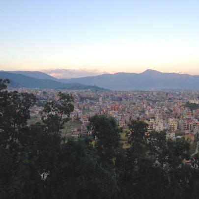 Sprawling City of Kathmandu