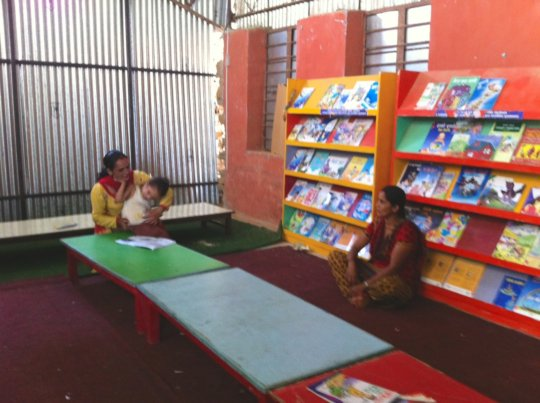Restore School Libraries in 5 Village Schools