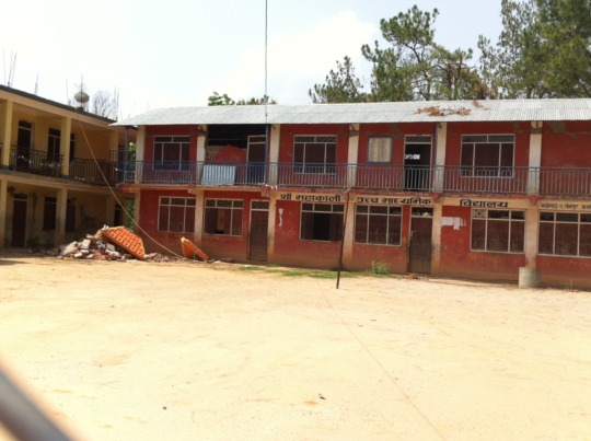 School Rebuilt by Sargamatha Coffee Coalition