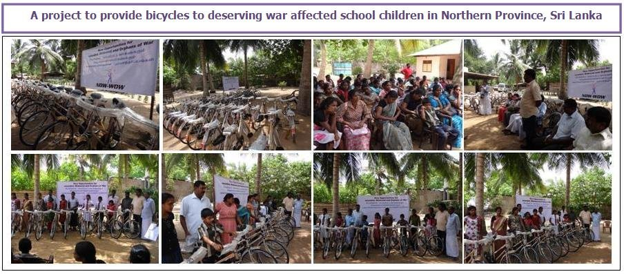 Education of Tamil War Affected Students