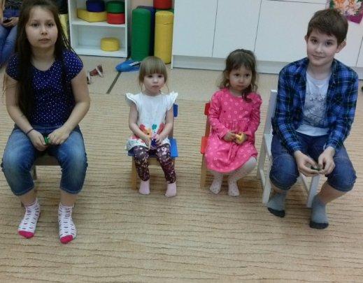 Katya, Dasha, Yevsevia and Tima