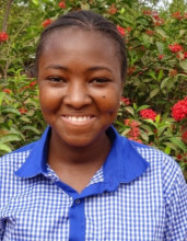 Beatrice, a future physician in Burkina Faso