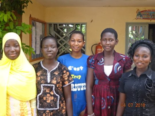 Fanta, Ruth, Aida, Fadilatou and Leontine