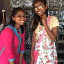 Deepa and Rhiddhi, Shadhika Scholarship Recipients