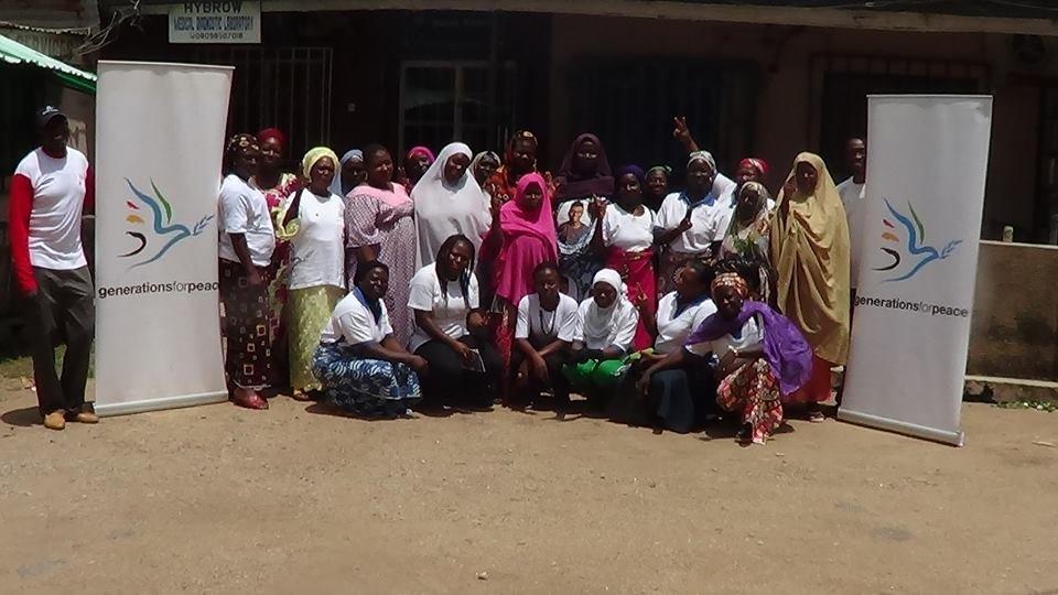 Participants in GFP Empowerment for Peace program