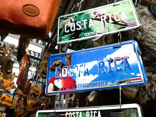 'Our' sloth ended up on a Costa Rica licence plate