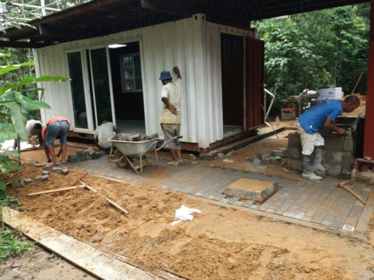 Access to the IC unit is being paved