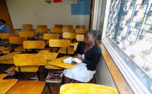Irene in class