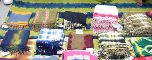 Scarves at the Market!