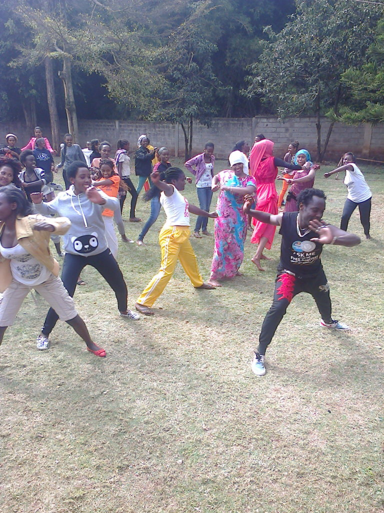 Zumba class at the GEP