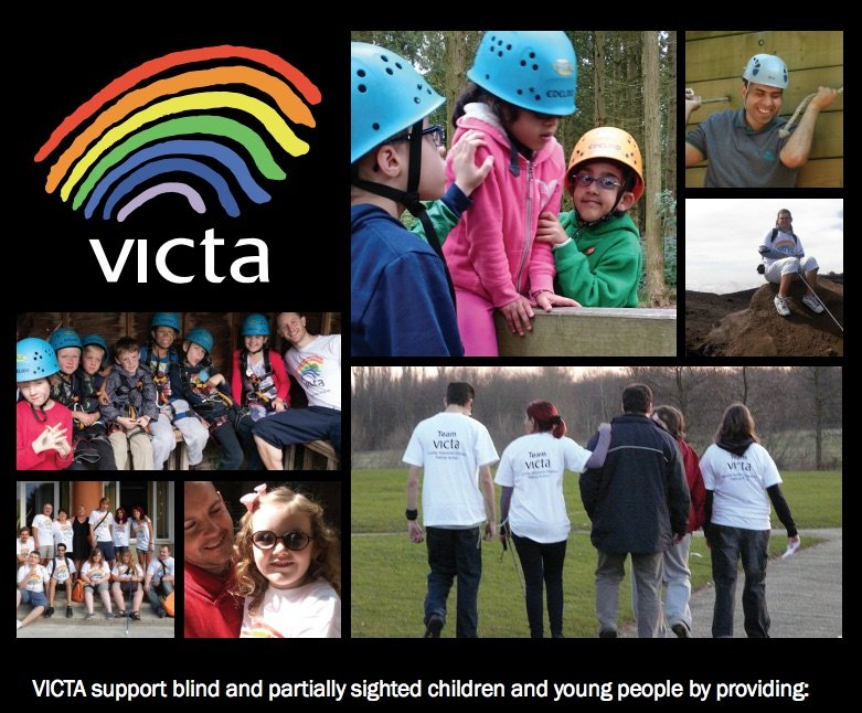 VICTA:Visually Impaired Children Taking Action