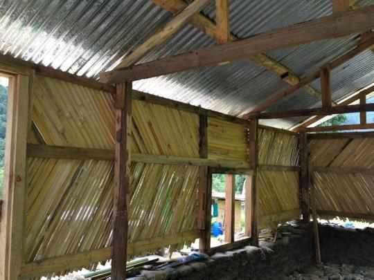 New home from inside - work in progress