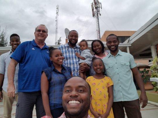 The crew at Visa Lodge