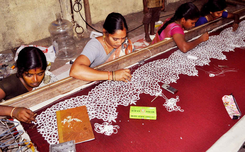 Provide embroidery training to 30 poor women